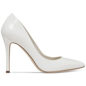 BCBGeneration White Patent Leather Pumps